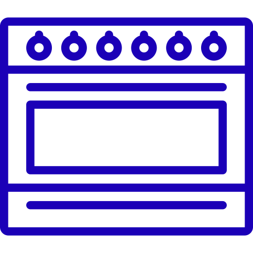 oven-blue